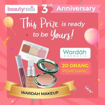 [Anniversary Special Giveaway] Riasan Wajah Sempurna dengan Makeup Wardah