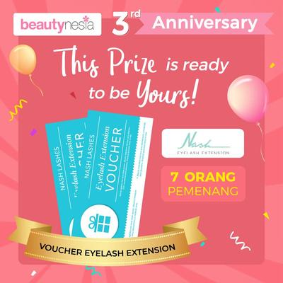 [Anniversary Special Giveaway] Korean atau AS? Pilih Dua Gaya Eyelash Super Cantik di Nash