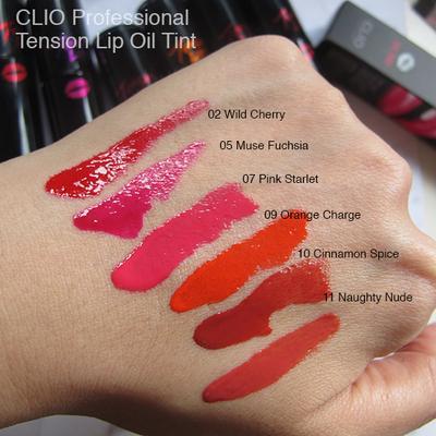 Clio Virgin Kiss Tension Lip Oil Tint, Lip Tint Berpigmentasi Juara yang Membuat Bibir Kamu Juicy!