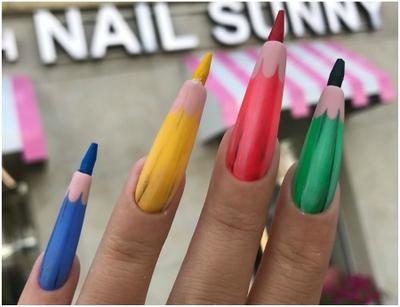 [FORUM] Viral! Pencil Coloured Nail Art, Yay or Nay?