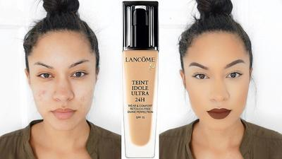Review Lancome Teint Idole Ultra Wear Foundation: Super Nyaman di Kulit!