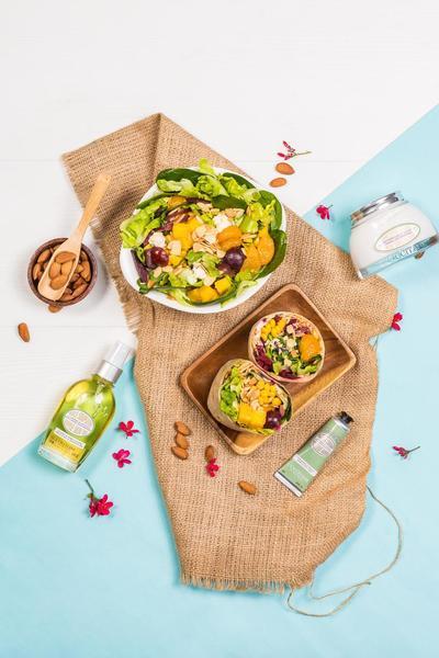 [EVENT] 'Almond Garden' Kolaborasi SaladStop! Dan L'Occitane