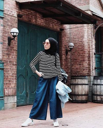 [FORUM] Mix and Match Baju Stripe buat Hijabers
