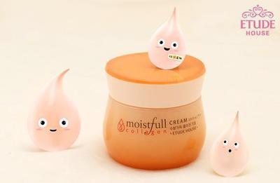 Etude House Moistfull Collagen Cream, Melembapkan dan Ampuh Mencegah Penuaan Dini