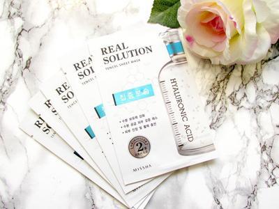 Dapatkan Berbagai Manfaat dari Pemakaian Teratur Missha Real Solution Tencel Sheet Mask