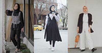 [FORUM] Influencer Hijab yang Suka Outfit Monokrom Siapa ya?