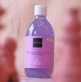 [FORUM] SCARLETT Whitening Shower Scrub Pomegrante senagus itukah di kalian?