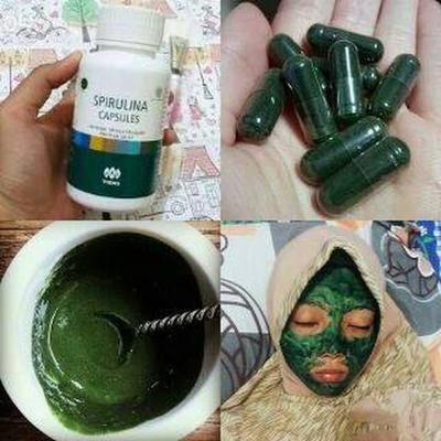[FORUM] Kalian tau Masker SPIRULINA lumpur hijau tiens Gak? ternyata begini loh!!