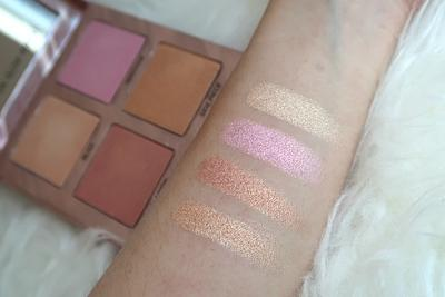 Review Urban Decay After Glow Highlighting Palette: Minimalist yet Pretty!