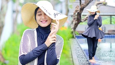 [FORUM] Kamu orang yang Pede Pakai baju Renang Muslimah?
