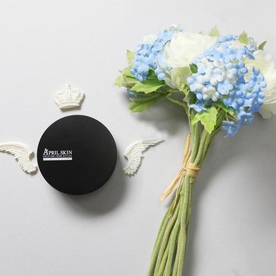 Dapatkan Wajah Cerah Merona Bak Wanita Korea dengan April Skin Magic Snow Cushion Black