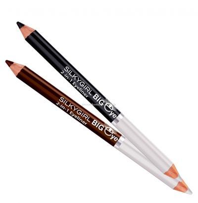 Dapatkan Mata Cantik dan Bersinar dengan Silkygirl Big Eye 2 in 1 Eyeliner Pencil