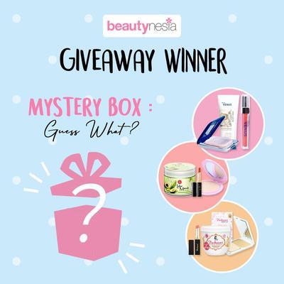 [GIVEAWAY ALERT] Pemenang 'Mystery Box Guess What?' Berhadiah Makeup dan Perawatan Tubuh!