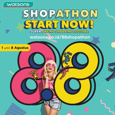 Belanja Produk Favoritmu dengan Harga Promo Fantastis?  Yuk Cek Watsons 88 Shopathon!
