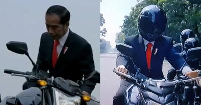 [FORUM] Aksi Presiden Jokowi di Opening Asean Games 2018 Pakai Stuntmant?