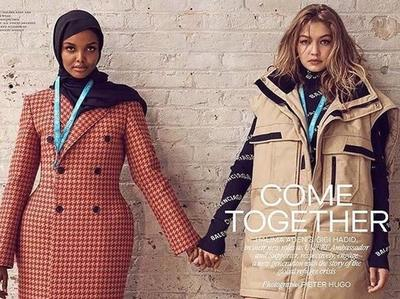 [FORUM] Model Keren! Hijabers Foto Bareng Gigi Hadid Majalah Fashion Ternama