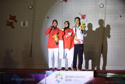 [FORUM] Atlet Panjat Tebing Indonesia Sumbang Medali Emas Pertama Kalinya! Spiderwoman!
