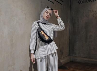 [FORUM] Fanny Pack, Enaknya di Mix Sama Gaya Hijab Boyish atau Feminim?