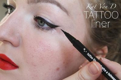 Kat von D Tattoo Liner, Eyeliner yang Super Tahan Lama Sesuai Namanya!