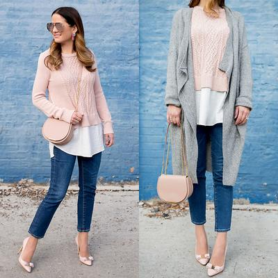 Long Cardi with Jeans
