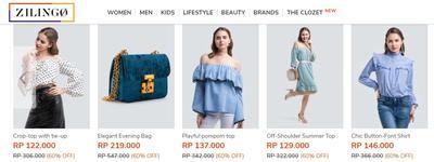 [FORUM] Ada yang udah belanja fashion di Zilingo?