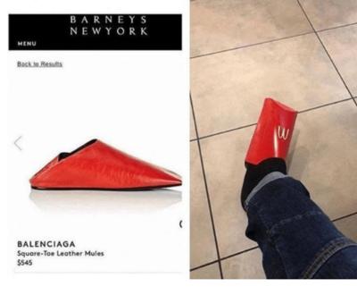 [FORUM] lucu banget, sandal Rp3,9 juta malah mirip wadah kentang goreng MCD
