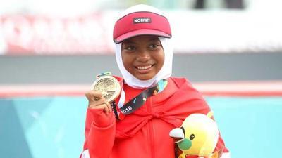 [FORUM] Nyimas Hijaber 12 tahun yang Raih Medali di Asian Games, Bikin Bangga