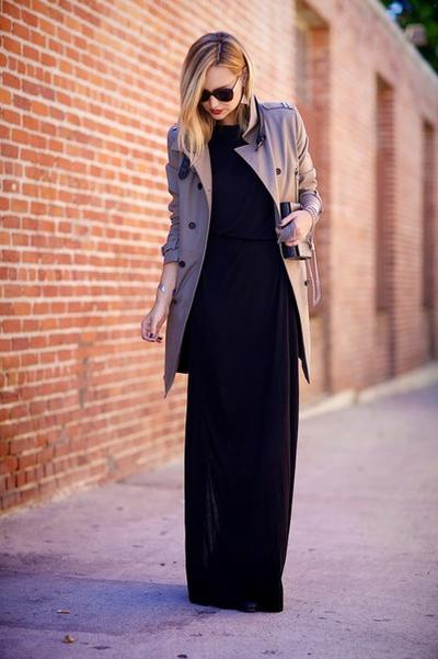 Maxi Outerwear with Maxi Dress