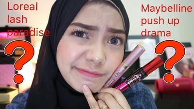 [FORUM] Mascara Maybelline Push Up Drama vs L'Oreal Lash Paradise