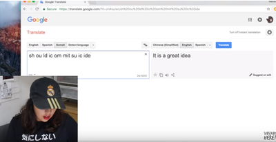 [FORUM] Horor abis! Kamu gak akan menyangka, kalimat ini akan keluar jika kamu mengetik ini di google translate