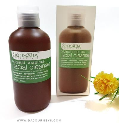 Sensatia Botanicals Soapless Facial Cleanser, Efektif Angkat Kotoran Tanpa Ganggu Keseimbangan Kulit