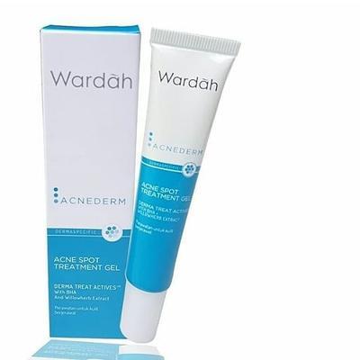 Hilangkan Jerawat yang Membandel dengan Wardah Acne Spot Treatment Gel