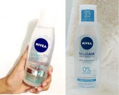 [FORUM] Nivea micellar air dan nivea micellar makeup clear apa bedanya ya?