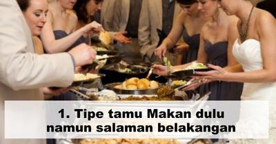 [FORUM] Kalau Kondangan kamu Tim #makandulu atau #salamandulu?