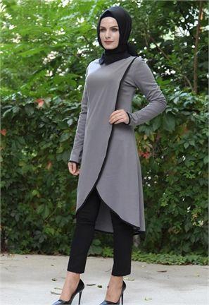 [FORUM] Selain Hitam, Warna Apa yang Cocok Buat Mix and Match Tunik Warna Abu-Abu?