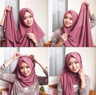 [FORUM] Model hijab bertumpuk gini masih jaman enggak sih?
