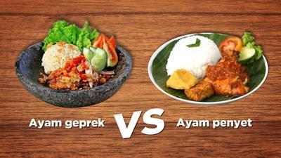 [FORUM] Ayam geprek atau penyet, mana favorit kamu?