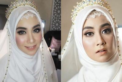 [FORUM] Makeup Anisa Rahma Saat Menikah Bikin Pangling Gak?