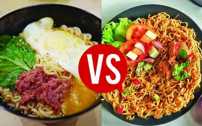 [FORUM] Hayo, lebih suka mie goreng atau mie rebus?