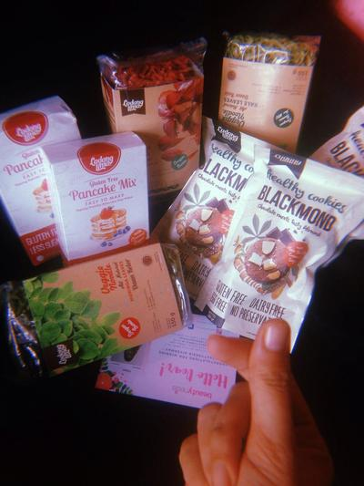 [FORUM] So happy!! Dapat package healthy food dari beautynesia