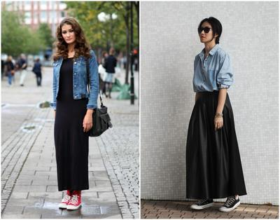 [FORUM] Kenapa terkadang pakai rok panjang bikin terlihat gendut ya?