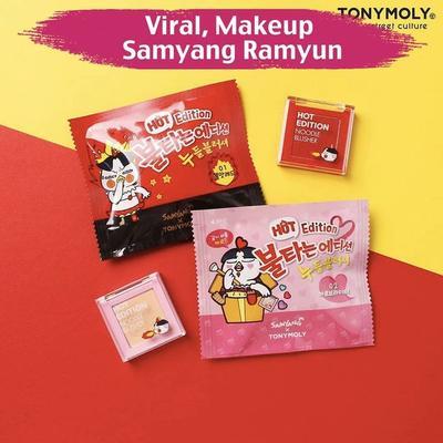 [FORUM] Viral Makeup Samyang Ramyun! Kapan Ada di Indonesia ya?