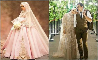 [FORUM] Lebih suka lihat gaun pengantin hijab yang simpel atau mewah?
