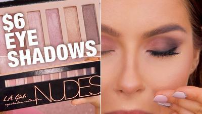[FORUM] LA Girl Nudes vs Maybelline Nudes Eyeshadow, Mana Lebih Pigmented & Tahan Lama?