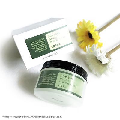 [FORUM] Bagi-bagi review, COSRX Aloe Vera Oil-Free Moisture Cream bikin minyak di wajah berkurang!