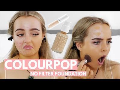 Enggak Perlu Filter Foto Lagi Setelah Menggunakan Colourpop No Filter Foundation, Ladies!