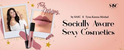 Inilah Fun Facts tentang Truly 'Mazing: Liquid Lipstick Lokal Kolaborasi SASC x Tyna Kanna Mirdad!