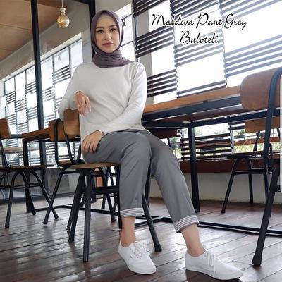 [FORUM] Ada yang tau rekomendasi celana katun stretch olshop yang bagus untuk hijabers?