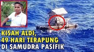 [FORUM] Kisah Survivor Aldi Adilang yang hanyut 49 hari di samudera pasifik, langsung mendunia!