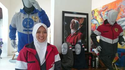 [FORUM] Wow! Brand Hijab Lokal Noore Mendunia di Olimpiade Tokyo